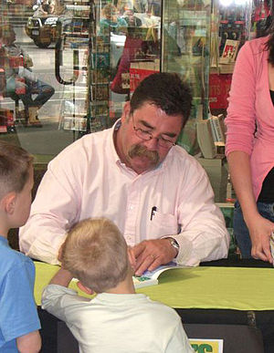 David Boon - Image: David Boon, booksigning