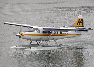 Seaplane - de Havilland Otter floatplane