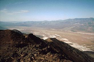 Dante's View - Dante's View to South