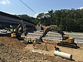Demolition of the former Pine Hill Road Ferry Road Bridge over I-95 (20689553668).jpg