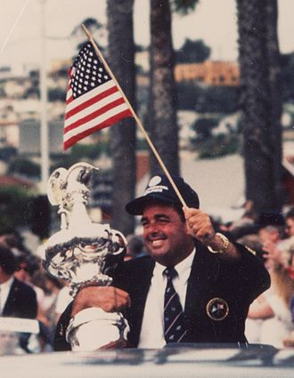 Dennis Conner - Image: Dennis Conner America s Cup cropped