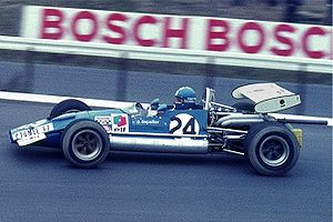 Patrick Depailler - Depailler driving a Formula Two car at the Nürburgring in 1970.