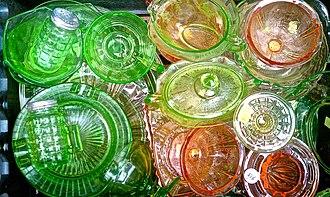 Depression glass - Depression ware