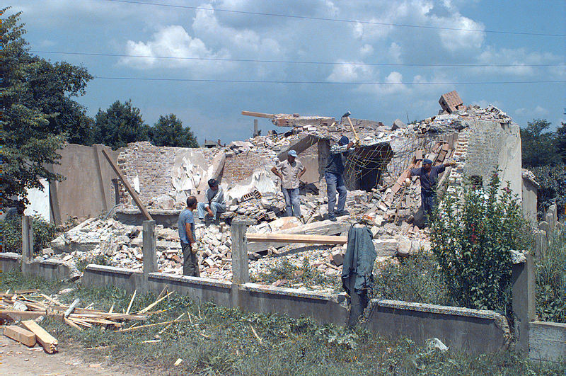 File:Destruction in Brčko.JPEG