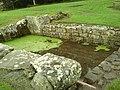 Detail from roman fort of Vindolanda 06.jpg