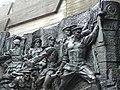 Detail of Heroic Frieze - Museum of the History of Ukraine in World War Two - Kiev - Ukraine - 01 (26405787903).jpg