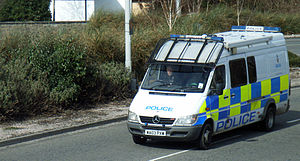 Devon and Cornwall Police - A van of Devon and Cornwall Police