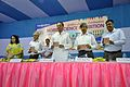 Dignitaries Hold New Commemorative Film on MSE - Inaugural Function - MSE Golden Jubilee Celebration - Science City - Kolkata 2015-11-17 4982.JPG