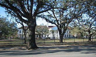 Dillard University - Dillard University campus on Gentilly Blvd.
