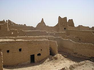 Diriyah - Old ruins in Diriyah