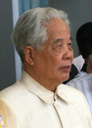 Secretary of the Central Military Commission of the Communist Party of Vietnam - Image: Do Muoi cropped