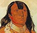 Dohason - head chief of the Kiowa - George Catlin (cropped).jpg