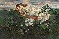 Dominique Lang, Messagères du printemps, 1904, MNHA.jpg