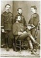 Don Carlos con José María de Orbe y José Ponce de León.jpg