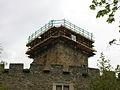 Donjone del Castello di Introd in restauro.JPG