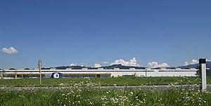 Deutsch: die Firma Doppelmayr (Unternehmen) in...