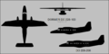 Dornier Do 228 three-view silhouette.png