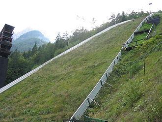 Letalnica bratov Gorišek - Landing zone in 2005