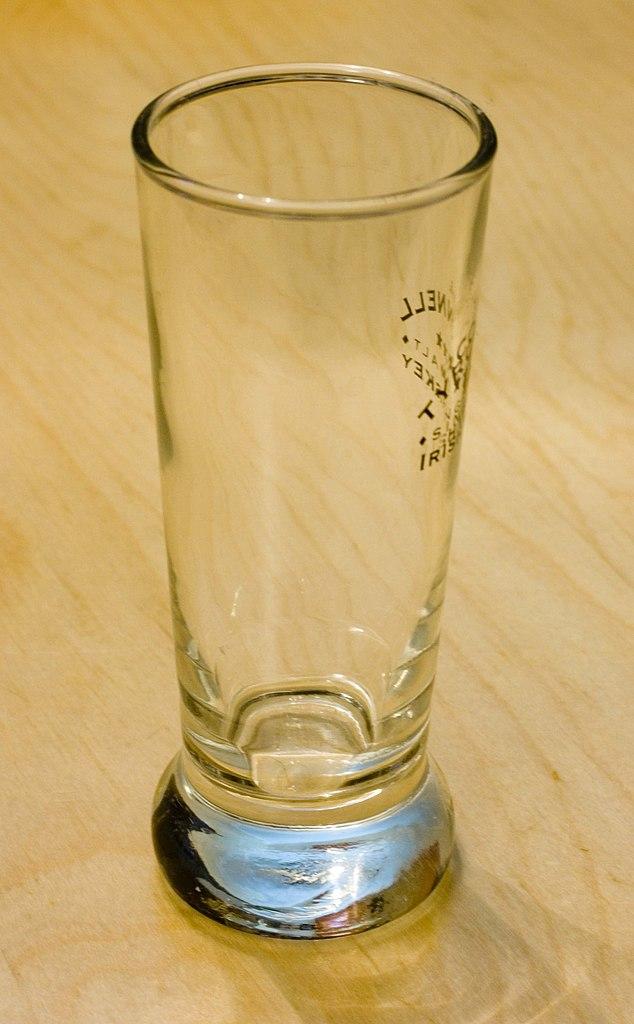 Glass Vodka Size