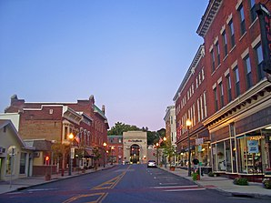 Downtown Hoosick Falls