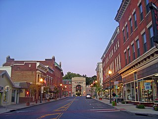 Hoosick Falls Historic District historic district in the United States