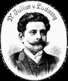 Dr. Julius von Ludassy 1893 Der Floh (Unsere einstigen Mitarbeiter).png