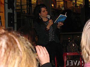 Chloe Aridjis - Chloe Aridjis reading from Book of Clouds