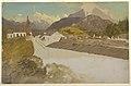 Drawing, Berchtesgaden, Bavaria, general view, June 1868 (CH 18198959).jpg