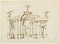 Drawing, Stage design, a garden loggia, ca. 1700–14 (CH 18358427).jpg