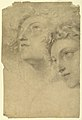 Drawing, Two Female Heads, 1886–92 (CH 18439635-2).jpg
