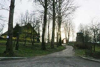 Dubingiai Place in Aukštaitija, Lithuania