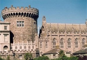 Norman Tower, Dublin Castle, Gilbert de Lyvet,...