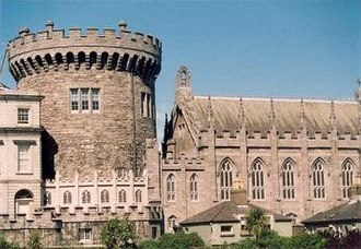 Dublin - Dublin Castle, with its 13th century tower, was the fortified seat of British rule in Ireland until 1922