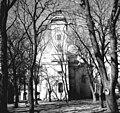 Dunavecse, Bács-Kiskun megye. A református templom a Zrinyi utca felől nézve. Fortepan 70427.jpg