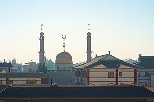 Dunhuang Mosque - Image: Dunhuang.mosquée.1