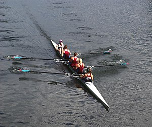 Durham Regatta womens coxed 4s