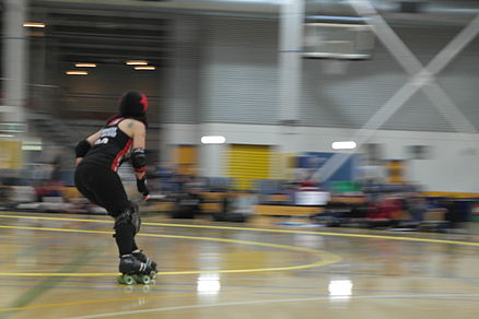 Dutchess of Hazard scoring (roller derby).JPG