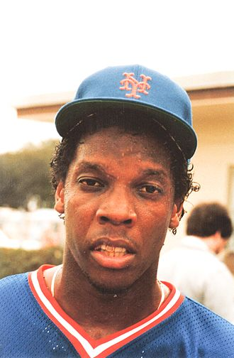 Dwight Gooden - Gooden with the New York Mets