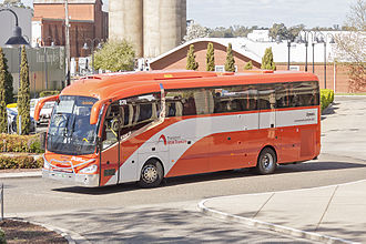 NSW TrainLink - Dyson Group Irizar i6 bodied Scania K310IB at Wagga Wagga station in September 2015