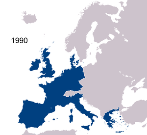 History of the European Union (1993–2004) - Membership until 1995