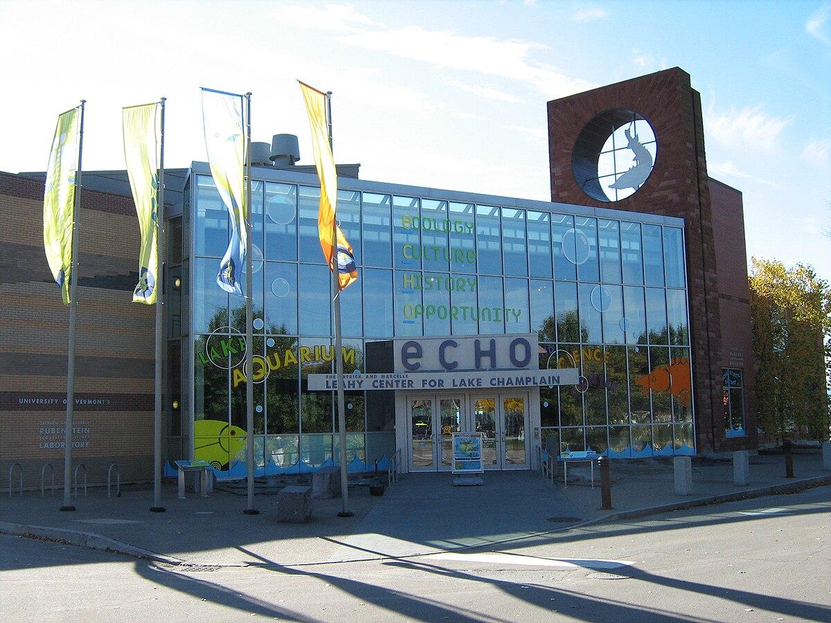 ECHO Lake Aquarium and Science Center - Wikipedia