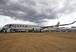 EGVA - Airbus A350 - Qatar Airways - A7-ANB (44009959712).jpg