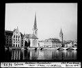 ETH-BIB-Zürich, Stadthaus-Fraumünster, Meise St. Peter, von der Schifflände-Dia 247-01653.tif