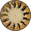 Eadweard Muybridge's phenakistoscope, 1893.jpg