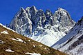 Early Spring Snowmelt Chaukhi Massif near or part of Kazbeki National Park.jpg