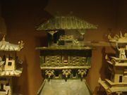 Earthenware architecture models, Eastern Han Dynasty, 11