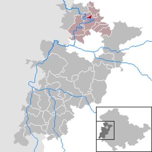 Ebenshausen - Image: Ebenshausen in WAK