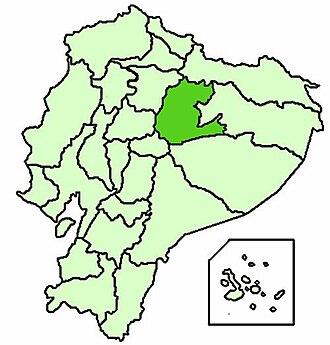 Apostolic Vicariate of Napo - Image: Ecuador Vicariato apostolico del Napo