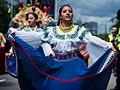 Ecuadorian dress, Carnival del Pueblo 2010, London.jpg