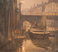 Edgar Bytebier - View of the Vleeshuisbrug in Ghent.jpg